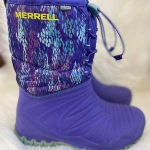 Merrell Girls Snow Quest Lite Winter Boot